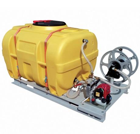 Cuve PE coffre équipée sur plateau 2 000 litres version thermique