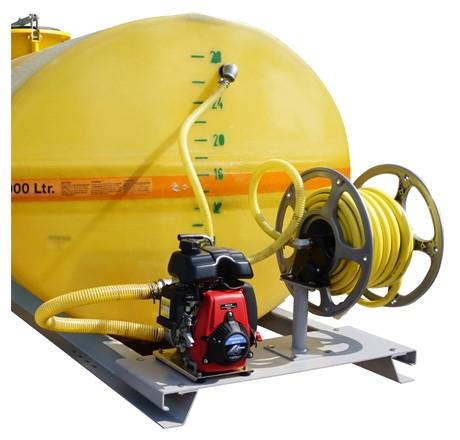 Cuve PFV ovale équipée sur plateau 4 000 litres version thermique