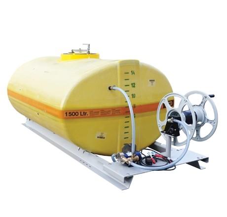 Cuve PFV ovale équipée sur plateau 4 000 litres version électrique