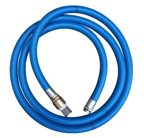 Kit d'aspiration (flexible PVC nitrile bleu renforcé DN 25